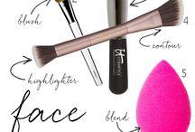 <makeup> / by Courtnie Lamb