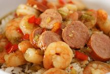 Soups, Gumbo, Stews & Pasta / CONFORT FOOD   / by Ronda Colwell Morris