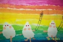Art ed-1st grade / by Elizabeth M