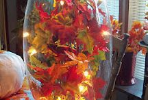 fall decor / by Lindsey Wilson