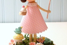 Clothespin dolls  / by Denise Mullen