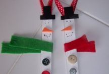 xmas crafts for kids / by Bonnie Sochia