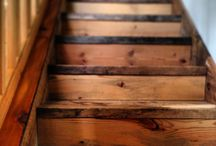 Reclaimed Wood Stairs / by Reclaimed Wood, Inc.
