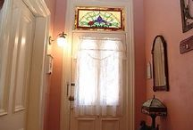 Stained Glass Transom Windows / by Lisa Braziel