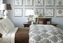 Ocean themed bedroom / by Dawn Kramer