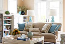 Living Room Ideas / by Annie Selander