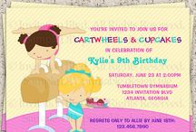 Ella-Cate's gymnastic party / by Mary Hilchey