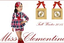 Otoño invierno 2014 .Miss Clementina . / Coleccion Julieta  / by Míss Clementina