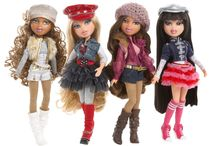 Bratz  / As a kid, I absolutely loathed Barbie and her friends (and I still do). Was bummed that Bratz didn't hit the market until I was too old for dolls. But now, I collect them as a hobby.  / by Lilith Hellfire