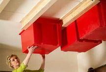 Storage ideas / by Joanna Millican