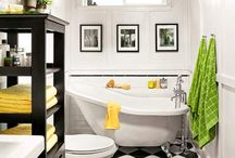 Bathroom / Green valley bathroom spruce up / by Erin Devey