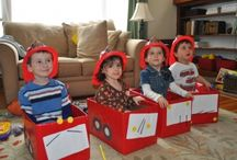 Fire engine party / by Roberta Aspinall