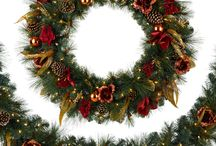 Classic Wreaths & Garlands / Exceptional in any home, our artificial Christmas wreaths and garlands bring extra panache to your holiday decor, they can hold an assortment of ornaments to fit any Christmas style which make them a great complement to our artificial Christmas tree selections. / by Tree Classics