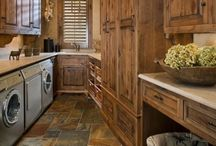 Laundry room / by Kimberly Bell