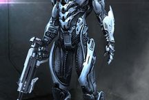 Mecha, Powered Suits, Androids & Cyborgs / by James Targett