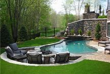 Outdoor space / by Mary Hightower
