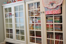Craft Room Organization / by Denise Sparks