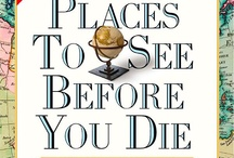 books you have to read / 1000 places to see before you die.