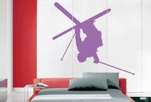 Sports Wall decals / by DezignWitha Z