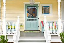 Front door/entryway / by Lee Ann Shaffer - Smith