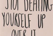 need to remind myself to be ok with myself / by Beth Pahel