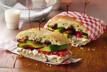 sandwiches / by Heidi Lavorato