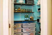 Organizing ideas for Craft Room / by Cherie Whittington