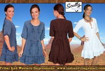 Ladies's  Western Dresses / by Tribal Impressions