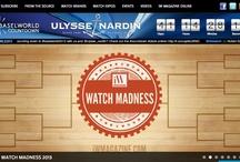 iW's Watch Madness / by iW Magazine