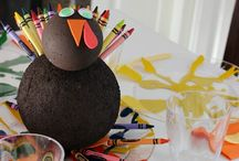 K I D S | C R A F T S | T H A N K S G I V I N G / Thanksgiving Crafts for Kids / by April | illistyle