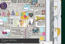 Birthday scrapbooking kits / by Rikki Donovan