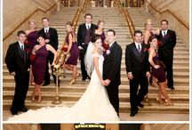 Bridal Party Shots / Whole bridal party shots. / by Robyn Rachel Photography