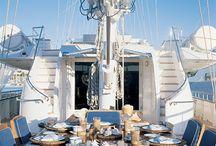 Yacht dining / by Olga Gatziou