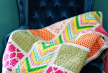 quilts & fabric / by Breanna Clymer