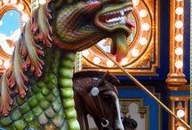 Carousels & carousel animals / by Benjamin Hohman
