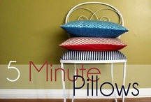 Crafts:  Pillows / Tutorials  / by Cindy Snyder