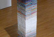 Sculpture (thread, fabric, fibers) / by Jennifer Shingelo