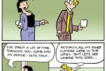 Comics in the Workplace / by GoComics from Universal Uclick