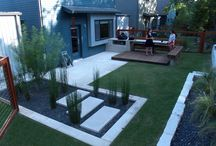 Modern backyard / by Cindy Henning
