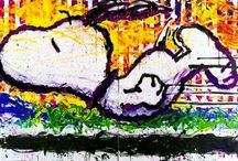Tom Everhart Peanuts Art / by Snoopy