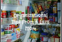 Organization, Emergency Preparedness  & Cleaning Tips / by Krista Morehead