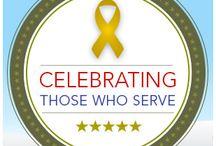 Celebrating Those Who Serve / by Christmas Tree Market