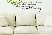 Favorite Wall Quotes™ Decals / by Belvedere Designs