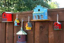 Birdhouses / by Nancy Naigle
