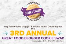 Great Food Blogger Cookie Swap / #fbcookieswap / by Cookies for Kids' Cancer