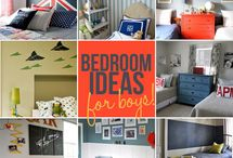 Home decor - Bedroom ideas for boys  / by Silvia Vanessa Carrillo Lazo