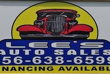 LEE'S AUTO SALES- SYLVANIA, AL / by Infinity Marketing Services