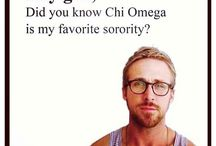 Chi omega / by Maggie Thomas