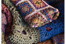Crochet - granny afghans / by Sudi6