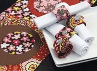 Quilted Table Linens / Give a fresh look to your table setting with these easy table linen patterns! Discover patterns for homemade napkin rings, napkins, placemats and quilted table runners.  / by Quilting Daily